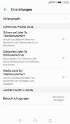 Huawei P8 Lite 2017 - Anrufe - Anrufe blockieren - 6 / 12