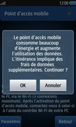 Samsung Wave 2 - Internet et connexion - Partager votre connexion en Wi-Fi - Étape 10