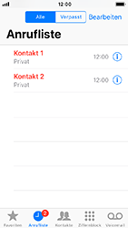 Apple iPhone 5s - Anrufe - Anrufe blockieren - 4 / 8