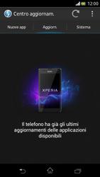 Sony Xperia V - Software - Installazione degli aggiornamenti software - Fase 7