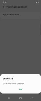 Samsung Galaxy Z Flip - voicemail - handmatig instellen - stap 11