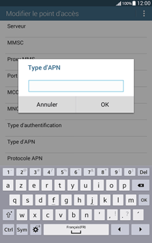 Samsung T335 Galaxy Tab 4 8-0 - Internet - Configuration manuelle - Étape 13