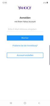 Samsung Galaxy Note 10 - E-Mail - 032b. Email wizard - Yahoo - Schritt 9