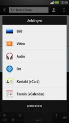HTC One - MMS - Erstellen und senden - 14 / 20