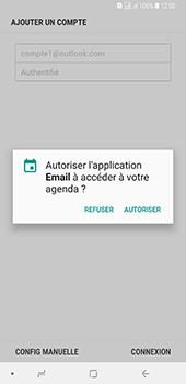 Samsung Galaxy A7 2018 - E-mails - Ajouter ou modifier votre compte Outlook - Étape 11