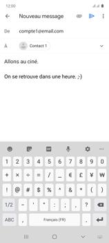 Samsung Galaxy Note 10 Lite - E-mails - Envoyer un e-mail - Étape 10