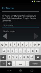 Sony Xperia Z1 Compact - Apps - Konto anlegen und einrichten - Schritt 5