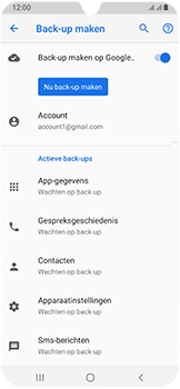 Samsung Galaxy A40 - Data - Maak een back-up met je account - Stap 11