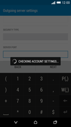 HTC Desire 816 - Email - Manual configuration POP3 with SMTP verification - Step 17
