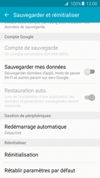 Samsung Galaxy A3 - A5 (2016) - Aller plus loin - Restaurer les paramètres d'usines - Étape 5