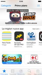 Apple iPhone 5s - Applicazioni - Configurazione del negozio applicazioni - Fase 4