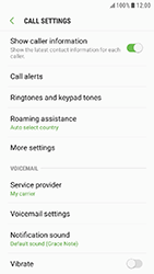 Samsung Galaxy Xcover 4 - Voicemail - Manual configuration - Step 6