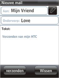 HTC F3188 Smart - E-mail - hoe te versturen - Stap 7