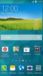 Samsung G900F Galaxy S5 - Primeros pasos - Activar el equipo - Paso 1