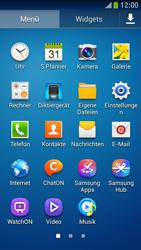 Samsung Galaxy S 4 Mini LTE - Startanleitung - Installieren von Widgets und Apps auf der Startseite - Schritt 6