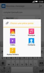 Alcatel Pop S3 (OT-5050X) - E-mail - envoyer un e-mail - Étape 11
