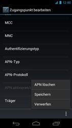 Samsung Galaxy Nexus - MMS - Manuelle Konfiguration - 11 / 14