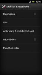 Sony Xperia U - Internet und Datenroaming - Manuelle Konfiguration - Schritt 5