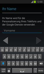 Samsung Galaxy Trend Lite - Apps - Einrichten des App Stores - Schritt 5