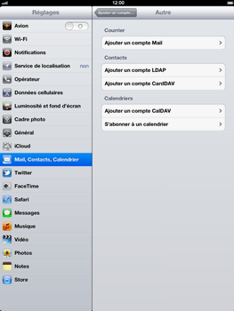 Apple The New iPad - E-mail - Configuration manuelle - Étape 6