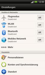 HTC One SV - Netzwerk - Manuelle Netzwerkwahl - Schritt 4