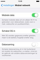 Apple iPhone 4 S iOS 7 - Internet - Dataroaming uitschakelen - Stap 5