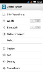 Alcatel One Touch Pop C3 - Internet und Datenroaming - prüfen, ob Datenkonnektivität aktiviert ist - Schritt 4