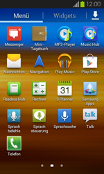 Samsung Galaxy S2 mit Android 4.1 - SMS - Manuelle Konfiguration - 3 / 9