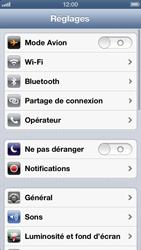 Apple iPhone 5 - Internet et roaming de données - Configuration manuelle - Étape 4