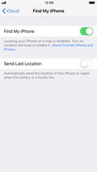 Apple iPhone 7 - iOS 12 - Device - Enable