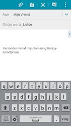 Samsung G850F Galaxy Alpha - E-mail - E-mails verzenden - Stap 9
