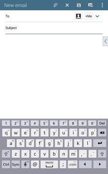 Samsung T335 Galaxy Tab 4 8-0 - E-mail - Sending emails - Step 5