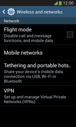 Samsung Galaxy Ace III - Internet and data roaming - Disabling data roaming - Step 5