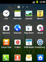 Samsung Galaxy Pocket - Netzwerk - Manuelle Netzwerkwahl - Schritt 3