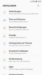 Samsung Galaxy J3 (2017) - WiFi - WiFi-Konfiguration - Schritt 4