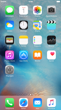 Apple iPhone 6s Plus - E-mail - Configuration manuelle - Étape 2
