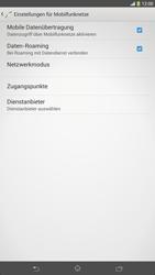Sony Xperia Z Ultra LTE - Ausland - Auslandskosten vermeiden - Schritt 8