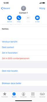 Apple iphone-x-met-ios-13-model-a1901 - Beveiliging en ouderlijk toezicht - Nummer blokkeren - Stap 5