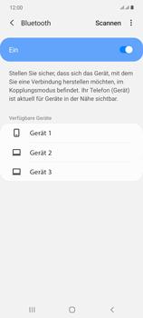 Samsung Galaxy Note 20 5G - Bluetooth - Verbinden von Geräten - Schritt 7