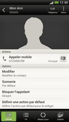 HTC One S - Contact, Appels, SMS/MMS - Ajouter un contact - Étape 10