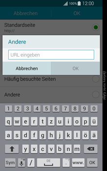 Samsung Galaxy Note Edge - Internet - Manuelle Konfiguration - 1 / 1