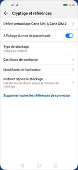Huawei Nova 5T - Prise en main - Comment activer un code SIM - Étape 6