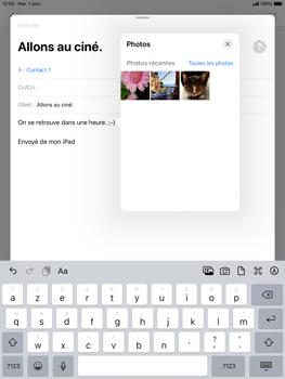 Apple iPad Pro (9.7) - iPadOS 13 - E-mail - envoyer un e-mail - Étape 9