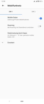 Sony Xperia 1 - Netzwerk - Netzwerkeinstellungen ändern - Schritt 7
