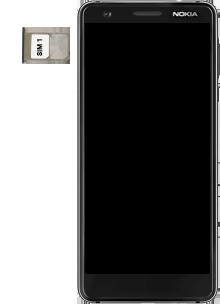 Nokia 3.1 - Premiers pas - Insérer la carte SIM - Étape 4