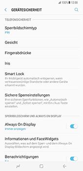 Samsung Galaxy S8 Plus - Datenschutz und Sicherheit - Automatischen Screensaver einschalten - 0 / 0