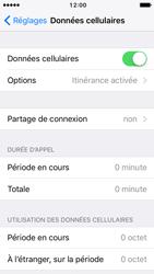 Apple iPhone 5s iOS 10 - Internet et roaming de données - Désactivation du roaming de données - Étape 4