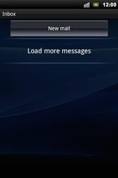 Sony Xperia Mini Pro - E-mail - Sending emails - Step 4