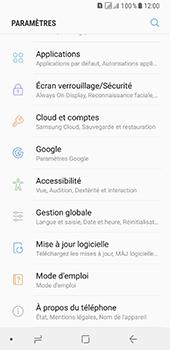Samsung Galaxy A8 - Sécuriser votre mobile - Activer le code de verrouillage - Étape 4