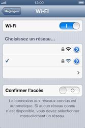 Apple iPhone 4S - WiFi - Configuration du WiFi - Étape 7